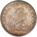 Early Half Dollars, 1806 50C Pointed 6, Stem, O-116', T-20, R.7, XF40 NGC....