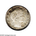 Proof Barber Quarters: , 1896 25C PR67 NGC. A memorably preserved, originally toned example with devices that seem afloat in the fragile, nicely mir...