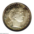 Proof Barber Quarters: , 1898 25C PR 67 Cameo NGC. ...