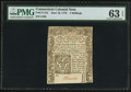 Colonial Notes:Connecticut, Connecticut June 19, 1776 5s PMG Choice Uncirculated 63 EPQ.. ...