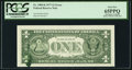Error Notes:Ink Smears, Ink Smear on Back Error Fr. 1909-K $1 1977 Federal Reserve Note.PCGS Gem New 65PPQ.. ...