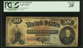 Large Size:Legal Tender Notes, Fr. 151 $50 1869 Legal Tender PCGS Very Fine 20.. ...