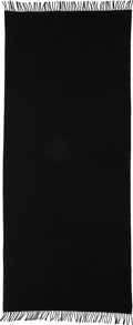 "Luxury Accessories:Home, Hermes Black Cashmere Throw Blanket. Excellent to PristineCondition. 29"" Width x 68"" Length. ..."