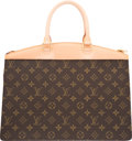 "Luxury Accessories:Bags, Louis Vuitton Classic Monogram Canvas Riviera Bag. ExcellentCondition. 14"" Width x 9.5"" Height x 6.5"" Depth. ..."