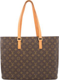 "Luxury Accessories:Bags, Louis Vuitton Classic Monogram Canvas Luco Bag. Good to VeryGood Condition. 16"" Width x 12"" Height x 4.5"" Depth. ..."