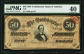 Confederate Notes:1864 Issues, T66 $50 1864 PF-5 Cr. 498.. ...