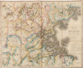 Books:Maps & Atlases, John G. Hales. Map of Boston and Its Vicinity from ActualSurvey. [Boston: circa 1819]....
