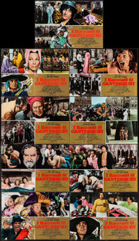 "The Canterbury Tales (United Artists, 1972). Italian Photobustas (9) (18"" X 26""). Drama. ... (Total: 9 Items)"