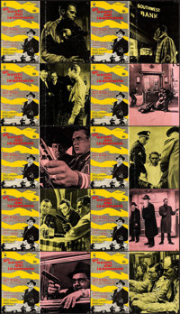 The Great St. Louis Bank Robbery (Dear Film, 1959). Italian Photobusta Set of 10. Crime. ... (Total: 10 Items)