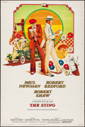 "Movie Posters:Crime, The Sting (Universal, 1973). Poster (40"" X 60""). Crime.. ..."