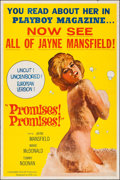 "Movie Posters:Sexploitation, Promises! Promises! (NTD, 1963). Poster (40"" X 60""). Sexploitation.. ..."