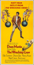 "Movie Posters:Action, The Wrecking Crew (Columbia, 1969). Three Sheet (41"" X 78.5"").Action.. ..."