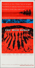 "Movie Posters:Western, The Wild Bunch (Warner Brothers, 1969). International Three Sheet(40.25"" X 79""). Western.. ..."