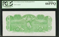 Confederate Notes:Group Lots, $500 Chemicograph Back Intended for Confederate Currency ND(1864).. ...