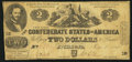 Confederate Notes:1862 Issues, T42 $2 1862 PF-1 Cr. 334.. ...