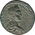 Ancients:Roman Provincial , Ancients: CILICIA. Tarsus. Caracalla (AD 198-217). AE 31mm (22.34gm). Choice XF, smoothing....