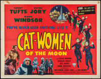"Cat-Women of the Moon (Astor Pictures, 1954). Half Sheet (22"" X 28""). Science Fiction"