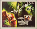 "Movie Posters:Science Fiction, The Electronic Monster (Columbia, 1960). Half Sheet (22"" X 28""). Science Fiction.. ..."