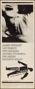 "Movie Posters:Drama, Anatomy of a Murder (Columbia, 1959). Insert (14"" X 36""). Drama....."