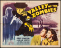 "Movie Posters:Horror, Valley of the Zombies (Republic, 1946). Half Sheet (22"" X 28"")Style A. Horror.. ..."