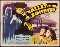 "Valley of the Zombies (Republic, 1946). Half Sheet (22"" X 28"") Style A. Horror"