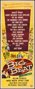 "Movie Posters:Rock and Roll, The Big Beat (Universal International, 1958). Insert (14"" X 36""). Rock and Roll.. ..."