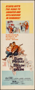 "Movie Posters:Elvis Presley, Follow That Dream (United Artists, 1962). Insert (14"" X 36""). Elvis Presley.. ..."