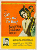 """Movie Posters:Drama, Cat on a Hot Tin Roof (MGM, 1958). Poster (30"""" X 40"""") Style Y.Drama.. ..."""