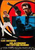 "Movie Posters:Action, Magnum Force (Dear, 1973). Italian Foglio (26"" X 36.5""). Action....."