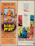 """Movie Posters:War, King Rat & Other Lot (Columbia, 1965). Inserts (2) (14"""" X 36"""").War.. ... (Total: 2 Items)"""