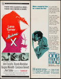 """Movie Posters:Drama, Madame X & Others Lot (Universal, 1966). Inserts (4) (14"""" X36""""). Drama.. ... (Total: 4 Items)"""