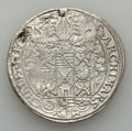 German States:Saxony, German States: Saxony. August Taler 1571-HB VF - Mounted Cleaned,...