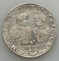 German States:Saxony, German States: Saxony. Christian II Johann Georg & August Taler 1605-HR About VF - Cleaned Mounted,...