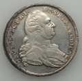 German States:Bavaria, German States: Bavaria. Karl Theodor Taler 1781 VF/XF - Cleaned,...