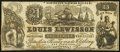"Obsoletes By State:Rhode Island, Providence, RI- Lewisson's Clothing Bazaar ""21 - 23"" Advertising Note ND (ca. 1845-1855). ..."