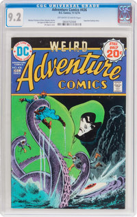 Adventure Comics #436 (DC, 1974) CGC NM- 9.2 Off-white to white pages