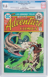 Adventure Comics #437 (DC, 1975) CGC NM+ 9.6 White pages