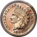 Proof Indian Cents, 1864 1C Copper-Nickel PR66 Cameo PCGS....
