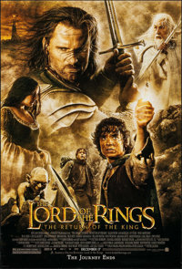 """The Lord of the Rings: The Return of the King (New Line, 2003). One Sheet (27"""" X 40"""") DS Advance. Fantasy"""