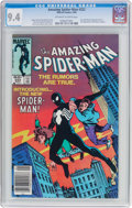Modern Age (1980-Present):Superhero, The Amazing Spider-Man #252 (Marvel, 1984) CGC NM 9.4 Off-white towhite pages....