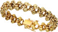 Estate Jewelry:Bracelets, Gold Bracelet, French. ...