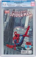 Modern Age (1980-Present):Superhero, The Amazing Spider-Man #1 Mile High Comics Edition (Marvel, 2014)CGC NM+ 9.6 White pages....