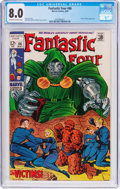 Silver Age (1956-1969):Superhero, Fantastic Four #86 (Marvel, 1969) CGC VF 8.0 Off-white to white pages....