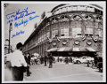 Autographs:Photos, Mickey Owen and Tom Henrich Signed & Inscribed Photograph. ...