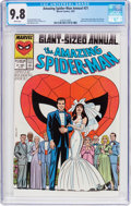 Modern Age (1980-Present):Superhero, The Amazing Spider-Man Annual #21 (Marvel, 1987) CGC NM/MT 9.8 White pages....