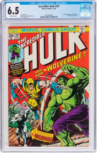The Incredible Hulk #181 (Marvel, 1974) CGC FN+ 6.5 Off-white pages