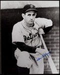 Autographs:Photos, Charles Gehringer Signed Oversized Photograph. ...