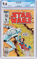 Modern Age (1980-Present):Science Fiction, Star Wars #86 (Marvel, 1984) CGC NM+ 9.6 White pages....