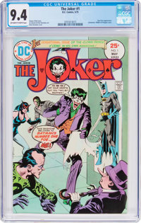The Joker #1 (DC, 1975) CGC NM 9.4 Off-white to white pages