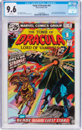 Bronze Age (1970-1979):Horror, Tomb of Dracula #44 (Marvel, 1976) CGC NM+ 9.6 White pages....